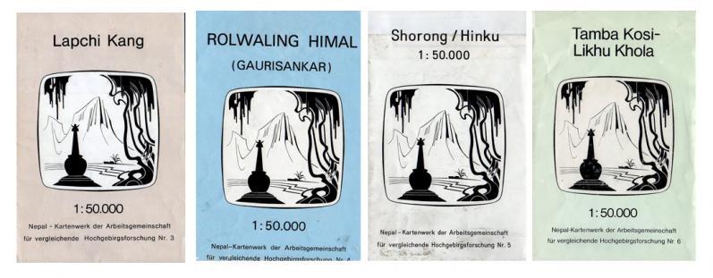 Cartes route des kharkas
