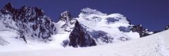La Barre des Ecrins vue depuis le Glacier Blanc
