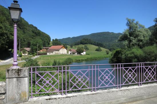 Traversée du Doubs à Soulce-Cernay