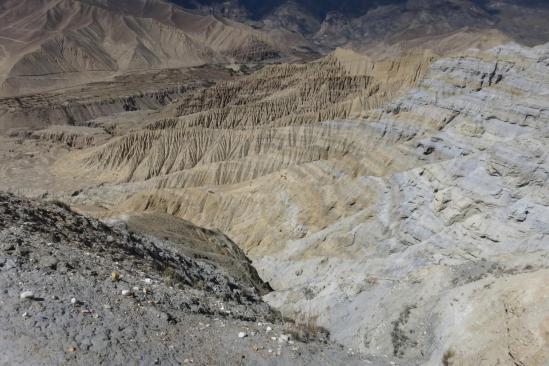 Du haut des falaises de Ghemi