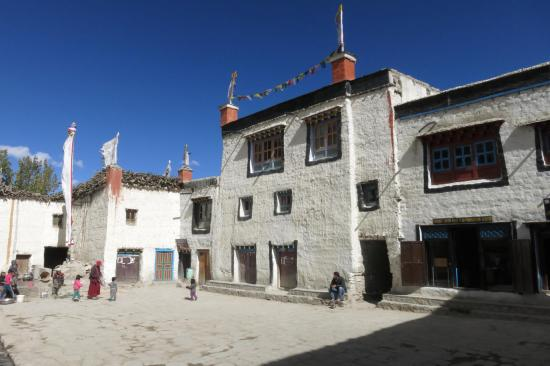 La place royale de Lo Manthang