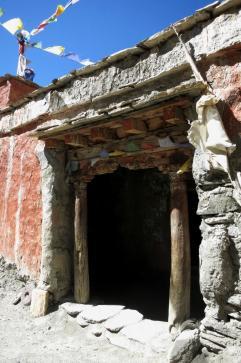 L'entrée de Chudzong gompa