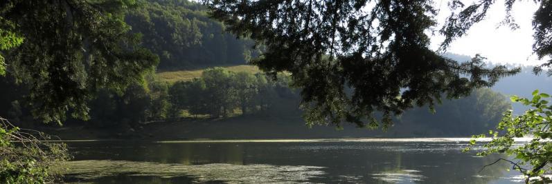 Le Doubs apaisé du côté de Biaufond