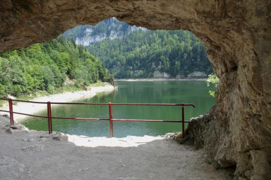 En bordure du lac de Moron