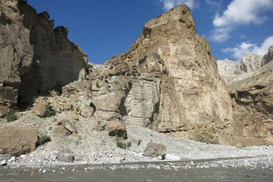 Il va falloir traverser la Kali Gandaki, fille aînée rebelle du Mustang...