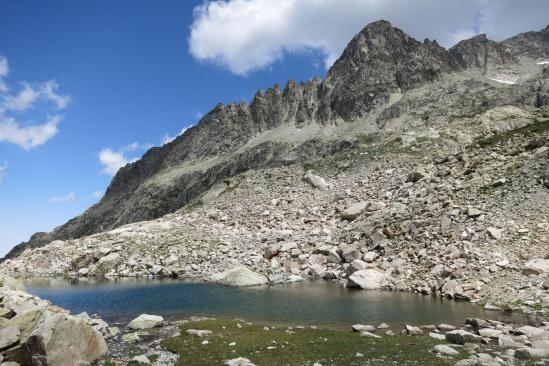 Au niveau des lacs Micoulaou
