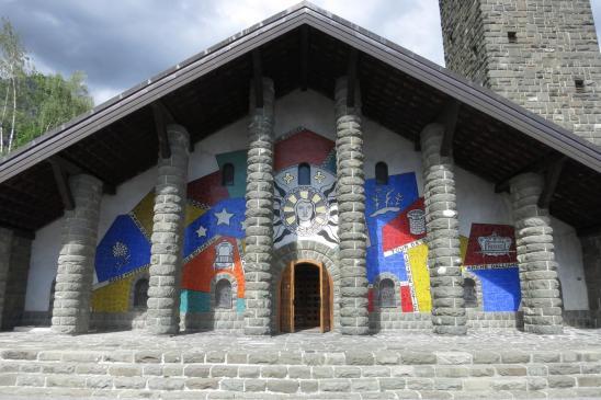 Eglise du Plateau d'Assy