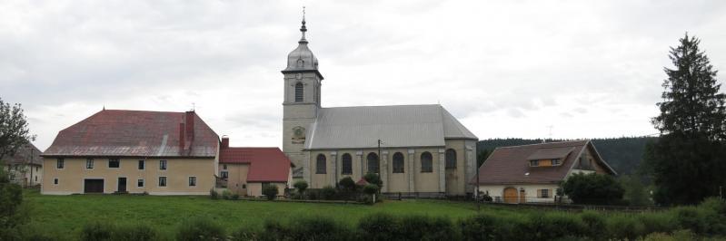 Le village de Mouthe