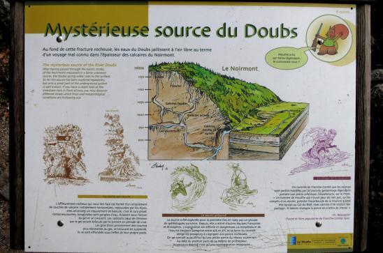 Mouthe (La source du Doubs)