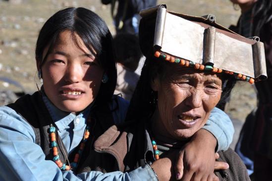 Villageois de Mukot