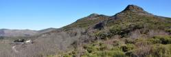 Le Rocher de Sarrasset au col de la Fayolle