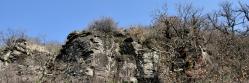 Les coulées de basalte du plateau du Coiron