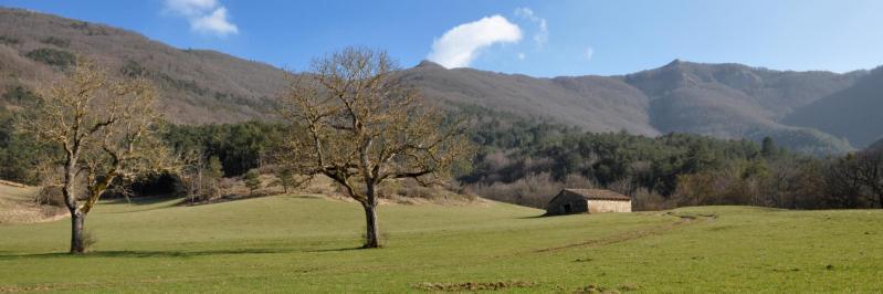 Le Bec Pointu vu depuis Grange Neuve (Omblèze)