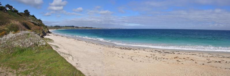 Sur la plage des Grands Sables