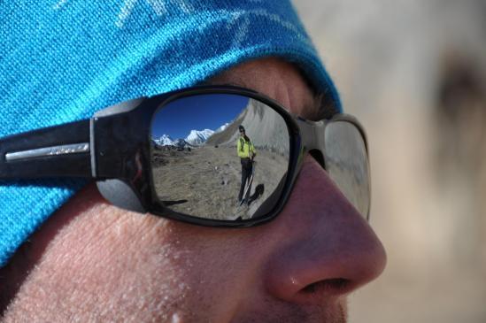 Dans les yeux de Christophe, Eric et les montagnes...