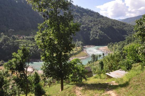 Vallée de la Tama kosi