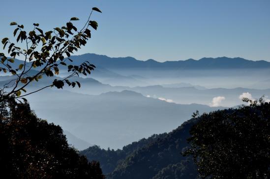 Les vallées du piémont du Kangchenjunga