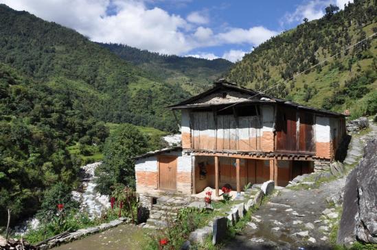 Maison du village de Lamsung