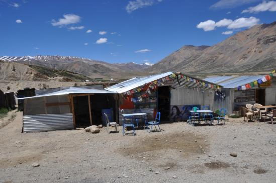 Maisons en tôle de Sarchu