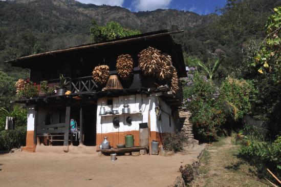 De passage à la bhatti de Yangthung