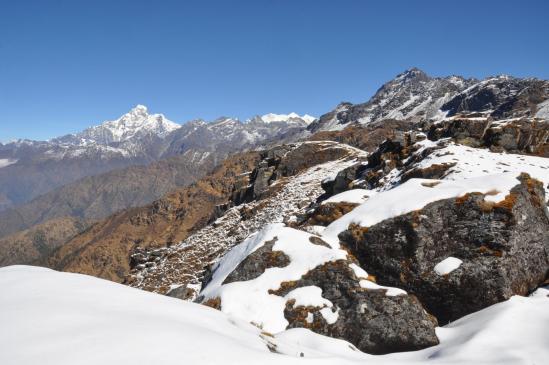 Après le Baramji, traversée entre la Burmuje danda et la Dhobini danda