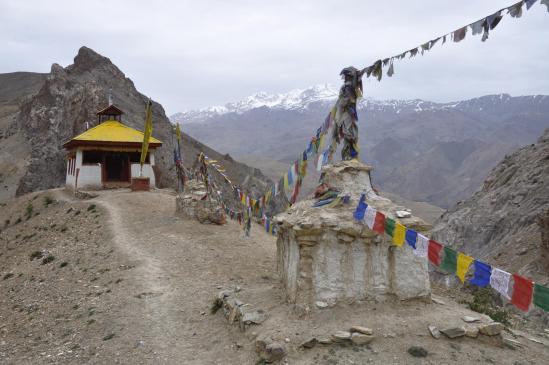 La vieille gompa de Pokhar Ogyan Rzong