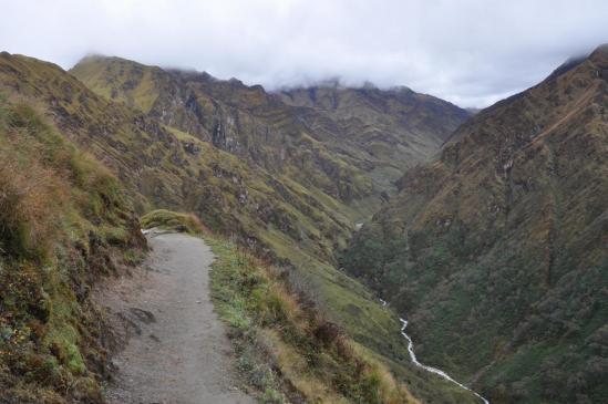 Remontée de la vallée de la Seng khola