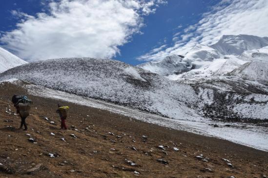 A l'approche du Kagmara La