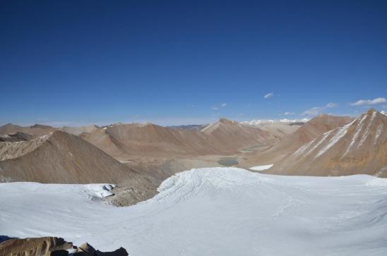 La suite du panorama depuis l'arête de l'Araniko Chuli