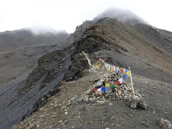 Franchissement du Kang La à 5350m