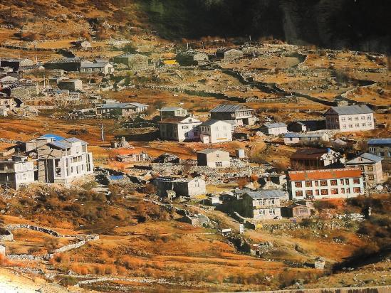 Langtang village (image d'archives)