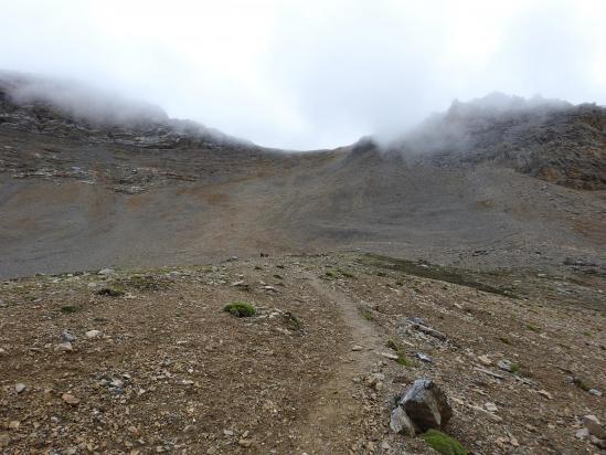 Au cours de l'ascension du Jhyarkoi La