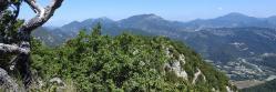 Sur les crêtes de la montagne d'Essaillon (Mont Rachas, Lance et Miélandre)