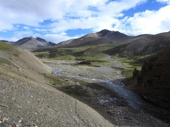 A la confluence de la Thasang khola et de la Mulung khola