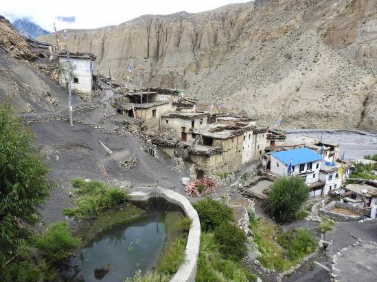 Le mignonnet village de Lupra
