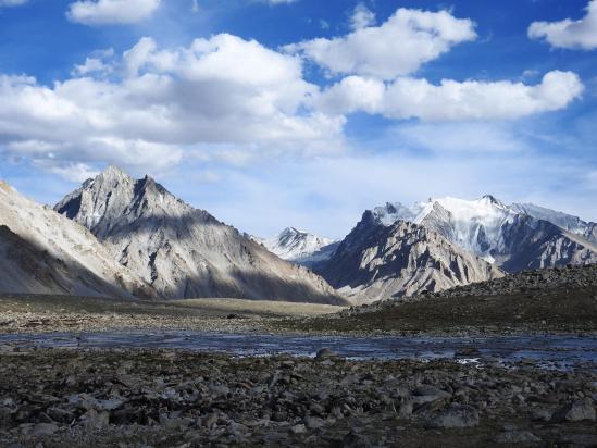 Le plateau de Dakstang yogma (Largyap La BC Sud)