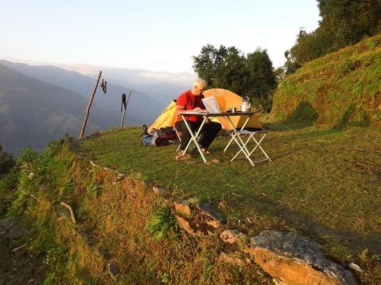 Au camping de Ningali