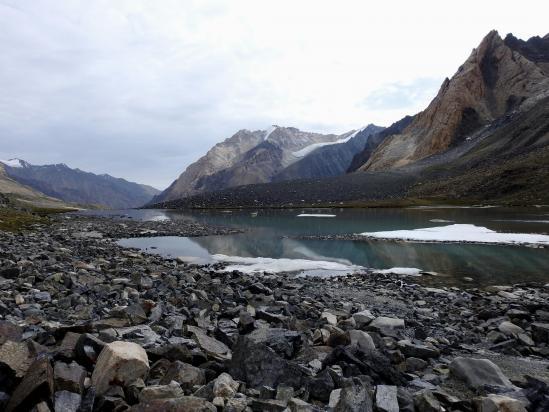 Le lac de Larsey Spangpoche