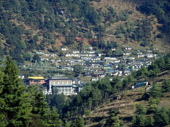Le monastère de Thubten Chöling