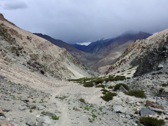 A l'approche du village de Puga sumdo yogma