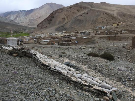 Puga sumdo yogma, village de réfugiés tibétains