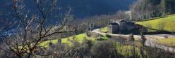 Panorama sur la vallée de l'Eyrieux en montant vers Conjols