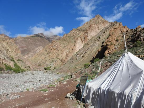 A l'entrée des gorges de la Kurmo chu