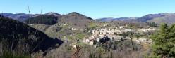 Saint-Pierreville (dans la vallée voisine de la Glueyre)