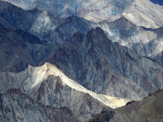 Les incroyables couleurs de roches de la vallée de la Markha
