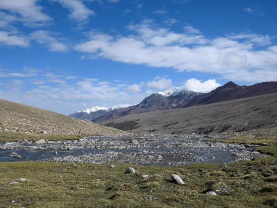 Sur les alpages supérieurs du plateau du Nyimaling