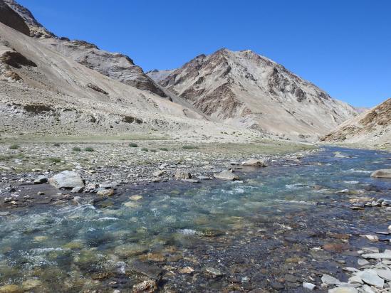 La bucolique vallée de la Phirse chu (couleurs non trafiquées...)