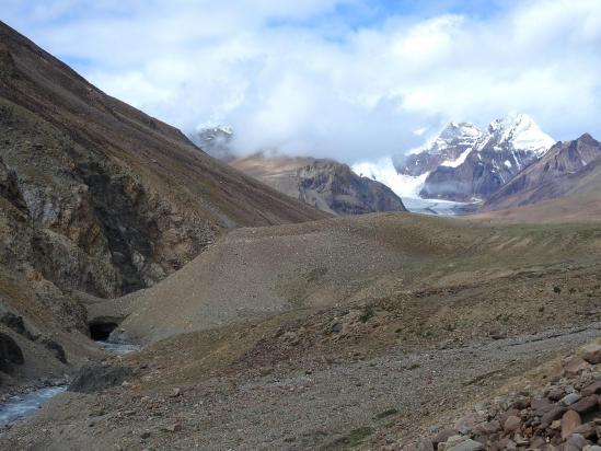 Les alpages qui annoncent la vallée de la Chandra