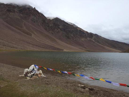 Le lac de Chandra tal