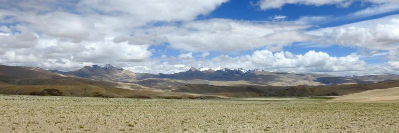 Traversée du plateau au S du Chagarchan La